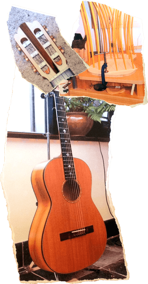 Photo of Guitars, hand made by Kevin Aram